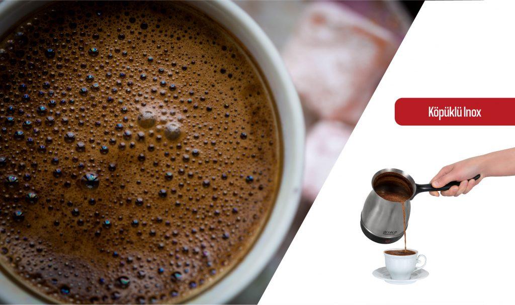 arnica türk kahvesi makinesi